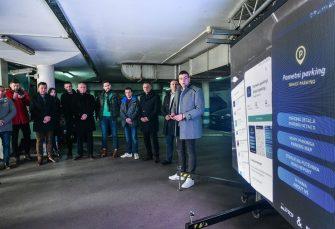 "RAD STUDENATA ETF-a: Promovisan ""Pametni parking"" u Banjaluci"