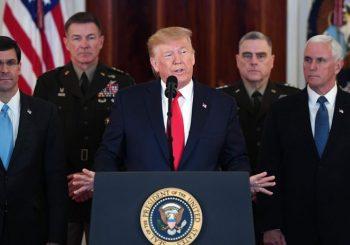 """OBRAĆANJE NACIJI: Tramp uvjeren da Iran posustaje, Sulejmanija nazvao """"top teroristom"""""""