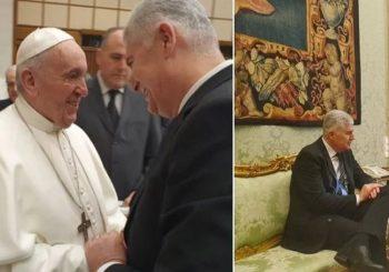 ČOVIĆ KOD PAPE FRANJE: Sa liderom HDZ-a BiH razgovarao i državni sekretar Vatikana