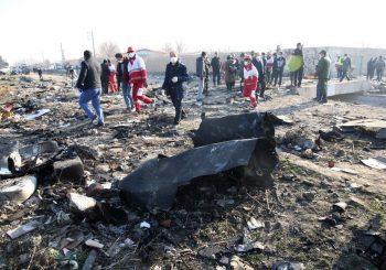 Srušio se ukrajinski avion u Iranu, poginulo 180 putnika
