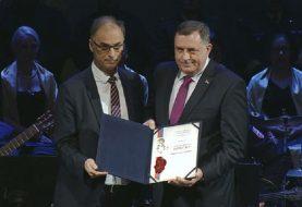 Dodiku uručeno najveće priznanje srpskog naroda u Sjevernoj Makedoniji - Svetosavska povelja