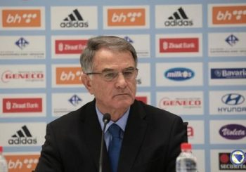 Dušan Bajević predstavio saradnike