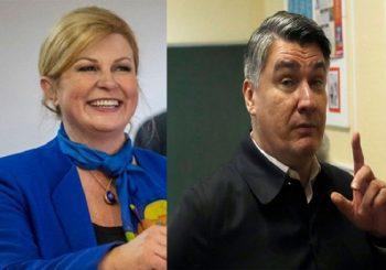 OTVORENA BIRALIŠTA Hrvati biraju izmeđi Milanovića i Grabar-Kitarovićeve