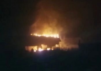 VELIKI POŽAR U BIJELJINI: Gori pilana, vatrogasci na terenu (VIDEO)