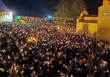 MUP CRNE GORE: Nećemo više obezbjeđivati litije, SPC: Molitvena i protestna okupljanja će se nastaviti