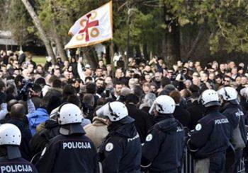 Crna Gora na ivici građanskog rata