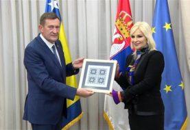 MITROVIĆ SA MIHAJLOVIĆEVOM: Gradnja pravca Požega - Kotroman na auto-putu Beograd - Sarajevo 2021.