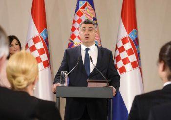 PREUZEO FUNKCIJU: Zoran Milanović položio predsjedničku zakletvu