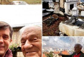 Neslon u obilasku Sarajeva sa Jovanom Divjakom