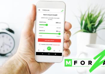 MForza: Prva domaća Android aplikacija za brze online kredite