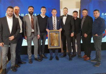 DAN FUDBALA RS: Darko Milunović odlikovan Zlatnom plaketom