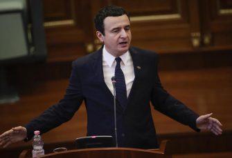 PALA VLADA ALJBINA KURTIJA Skupština samoproglašenog Kosova izglasala je nepovjerenje