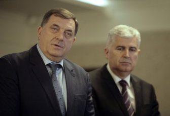 O AKTUELNOJ POLITIČKOJ I EKONOMSKOJ SITUACIJI U BIH: Sastanak Dodika, Čovića, Izetbegovića, Radončića i Zatlera