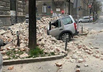 STRAŠAN ZEMLJOTRES U ZAGREBU Rušili se zidovi, vatrogasci spašavaju zarobljene građane (FOTO, VIDEO)
