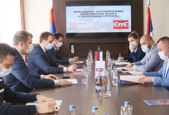 SPS: Partija Gorana Selaka predstavila set od 20 kratkoročnih ekonomskih mjera