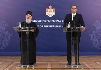 Patrijarh Irinej i Aleksandar Vučić: Plan da u Crnoj Gori nema SPC, niti srpskog pravoslavnog naroda