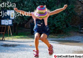 """PROJEKAT """"PODRŠKA DJETINJSTVU"""": UniCredit Fondacija i UniCredit Group u BiH podržala 7 neprofitnih organizacija koje rade sa djecom i mladima"""