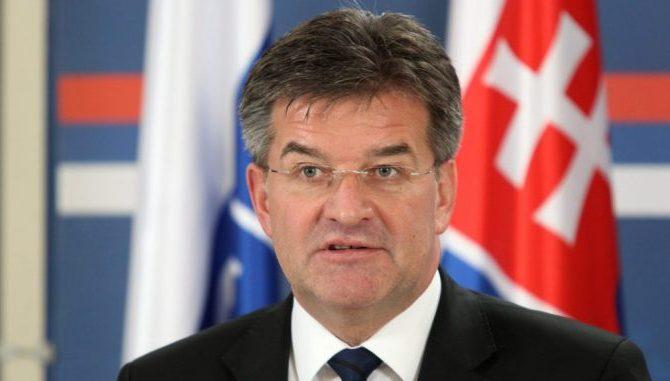 STIGAO U BRISEL: Lajčak preuzeo novi posao, najavio susrete sa zvaničnicima iz Beograda i Prištine