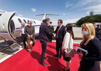 DOČEKAN UZ NAJVIŠE DRŽAVNE POČASTI: Milorad Dodik stigao u Moskvu
