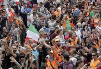PROTEST U RIMU: Desnica traži smjenu italijanske vlade