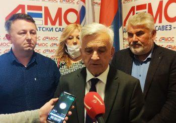 ČUBRILOVIĆ: DEMOS očekuje oko 70 mandata na lokalnim izborima