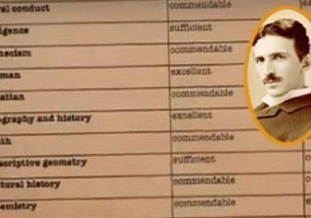 """Ovo su srednjoškolske ocjene Nikole Tesle: Ne možete ni pretpostaviti iz kog predmeta je """"pao"""" (VIDEO)"""