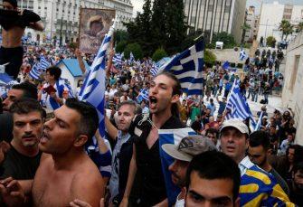 U ATINI I JOŠ 40 GRADOVA: Grci protestuju zbog ograničavanja prava na demonstracije