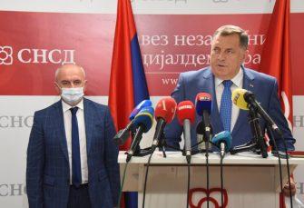 """ODNOS SNSD I SP STABILAN"" Dodik: Ostajemo u koaliciji"