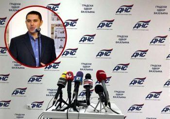 BIJELJINA: Saša Mirić, potpredsjednik Gradskog odbora, napustio DNS