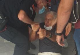 Drama u Podgorici: Policija vukla po podu starca od 80 godina
