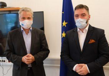 Košarac sa Satlerom o izvozu crvenog mesa u EU