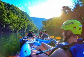 Kajak safari na Vrbasu: Škola, rekreacija i romantika