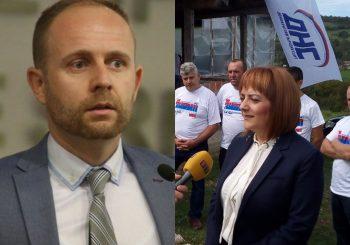PRVI IZLASCI IZ DNS: Marko Aćić i Daliborka Kerezović Damajanović ne žele sa funkcija