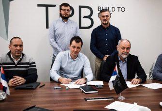 SARADNJA: Predstavnici Tehničkog remonta Bratunac potpisali ugovor sa beogradskom firmom GPTS