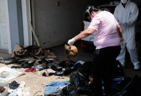 Pronađeno sedam leševa u pošiljci iz Srbije