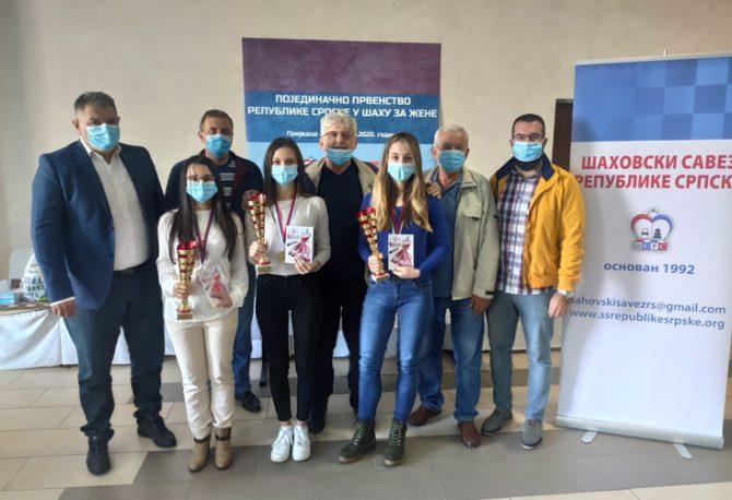 PRVENSTVO RS ZA ŠAHISTKINJE: Mirjana Popadić iz Bileće novi šampion