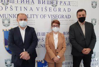 Vidović: Iduće sedmice milion KM za rekonstrukciju Višegradske banje