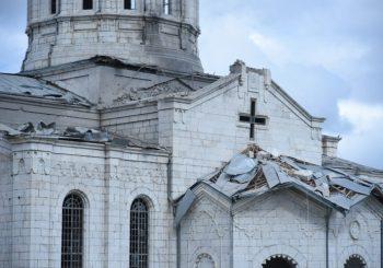 OPTUŽBE: Jermenija tvrdi da je Azerbejdžan granatirao drevnu crkvu