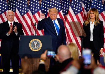 Trump: Pobijedili smo, prekinuti prebrojavanje glasova