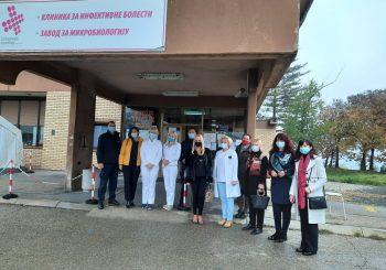 Članice Inner Wheel kluba u posjeti Klinici za infektivne bolesti UKC RS