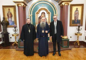 Episkop Fotije primio u posjetu načelnika opštine Teslić