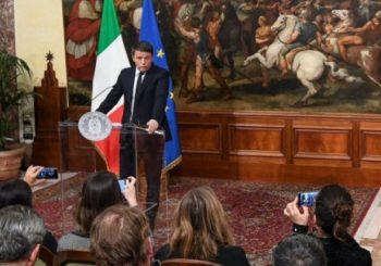 RENCI OSTAVIO PARTNERE BEZ VEĆINE: Bivši premijer napustio italijansku vladajuću koaliciju