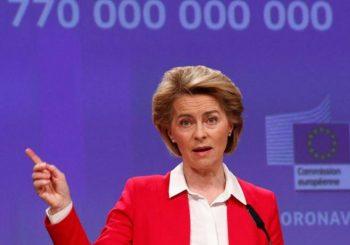 URSULA FON DER LAJEN: EU nije u poziciji da donira vakcine siromašnim državama