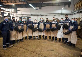 """Učenici Tehničkog školskog centra iz Zvornika na praksi u kompaniji """"Alumina"""""""