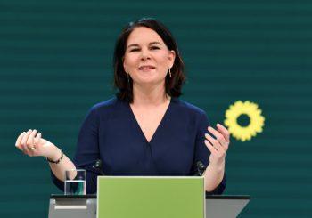PREDVODIĆE KAMPANJU: Analena Berbok kandidat Zelenih za kancelara Njemačke