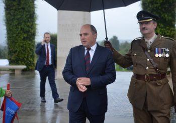 RIJEČI SE VIŠE NE BIRAJU: Britanski ministar odbrane nazvao Rusiju neprijateljem i najvećom prijetnjom