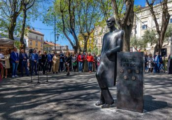 POČAST: Mate Parlov dobio spomenik u centru Pule