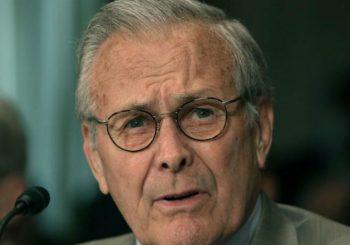 U 89. GODINI: Preminuo Donald Ramsfeld, bivši državni sekretar SAD i strateg rata u Iraku