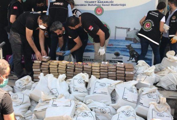 REKORD: Turski carinici zaplijenili tonu kokaina