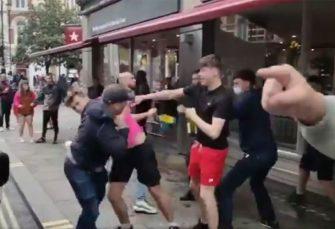 PRVA TUČA NA EP: Obračun škotskih i engleskih navijača uoči meča na Vembliju (VIDEO)